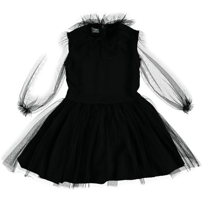 tocoto vintage Black Tulle Dress