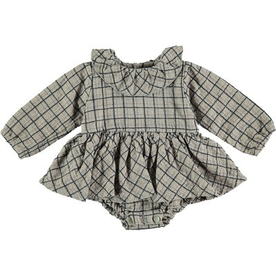 tocoto vintage Checker baby dress