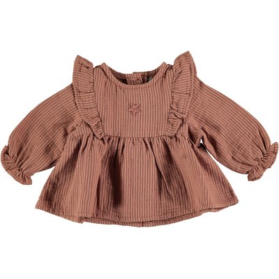 tocoto vintage Baby Striped blouse