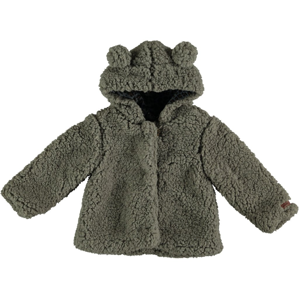 tocoto vintage Baby hooded Teddy Jacket