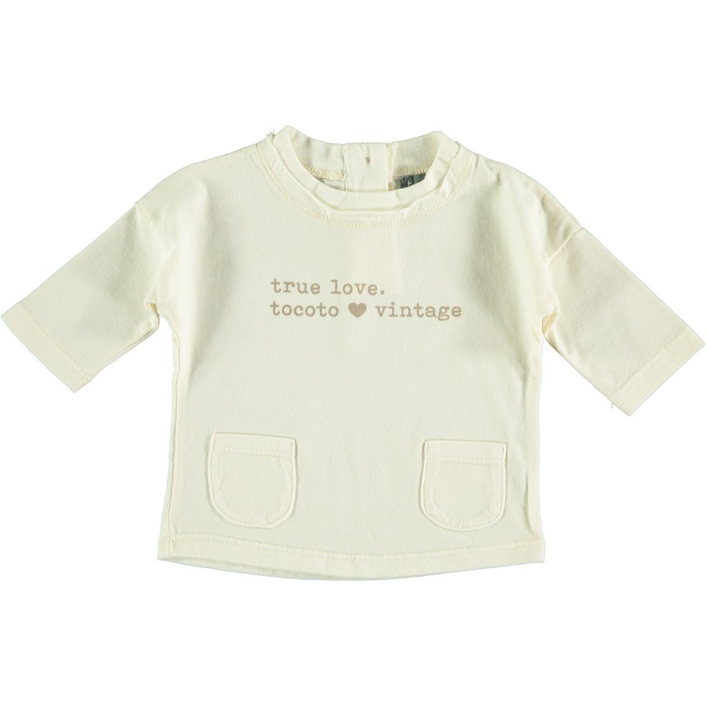 tocoto vintage True Love Baby T-Shirt