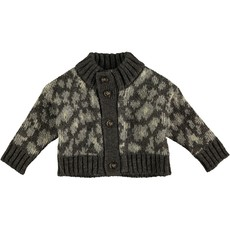 tocoto vintage Tocoto Vintage Animal knitted cardigan AW20-W60520