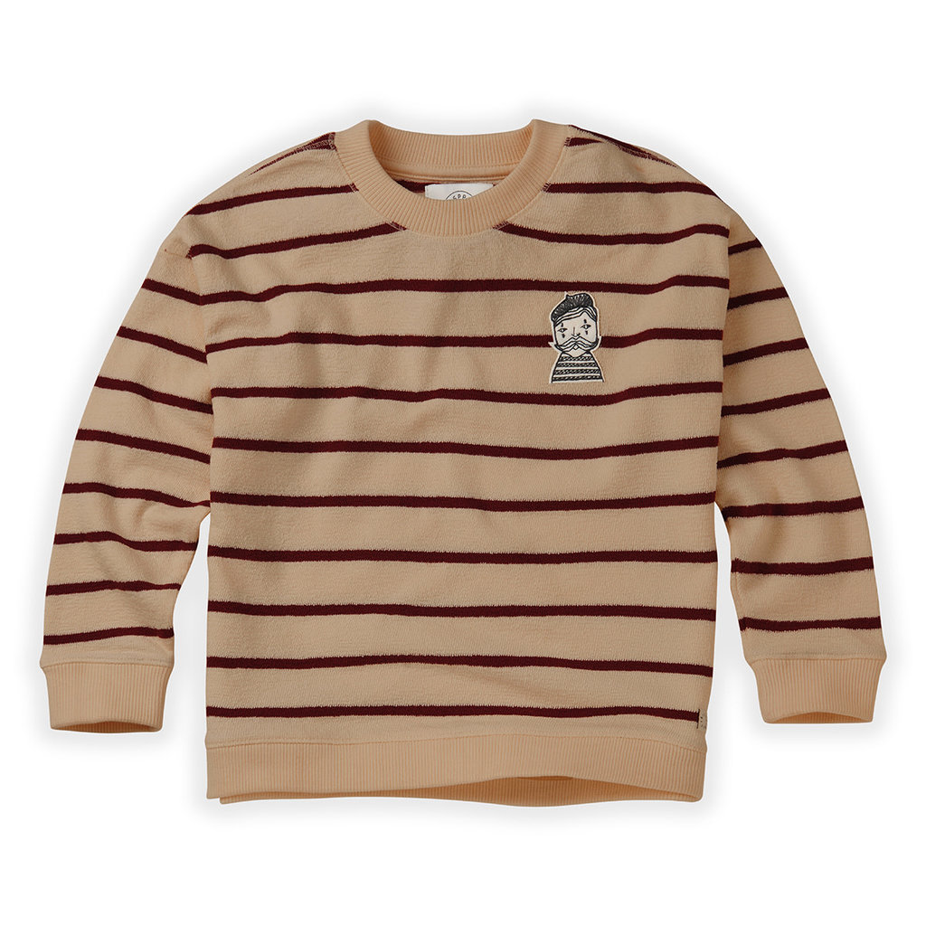 Sproet & Sprout Loose Stripe Sweatshirt