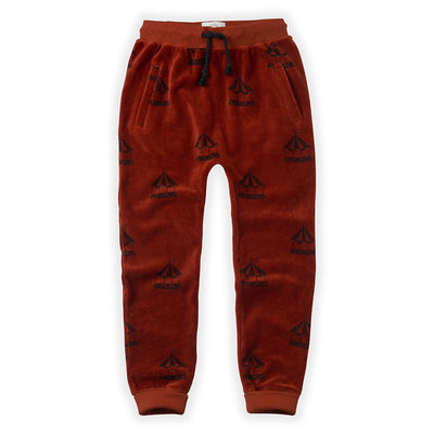 Sproet & Sprout Velvet Carousel Sweatpant