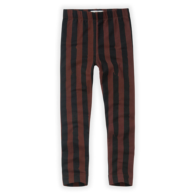 Sproet & Sprout Painted Stripe chocolate Legging