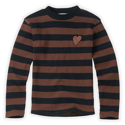 Sproet & Sprout Stripe Turtleneck Stripes T-Shirt