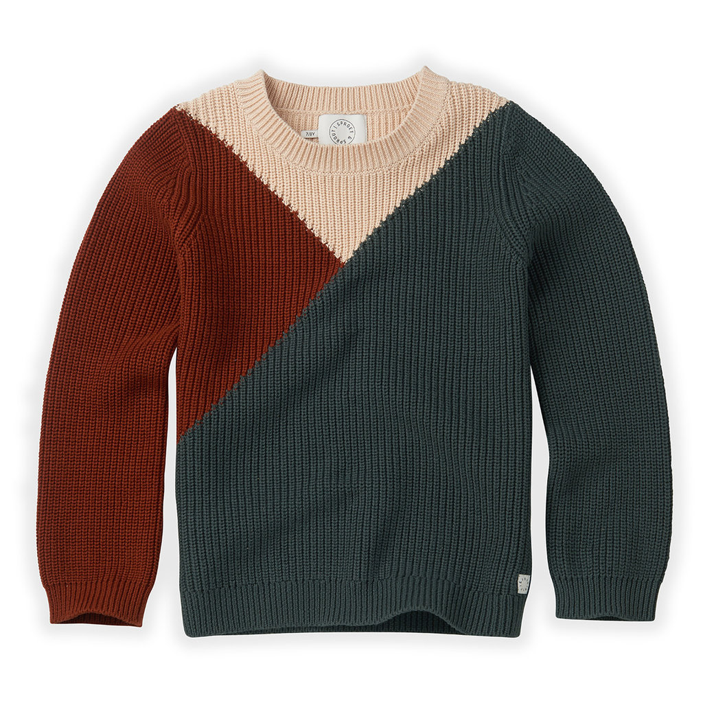 Sproet & Sprout Colourblock Sweater
