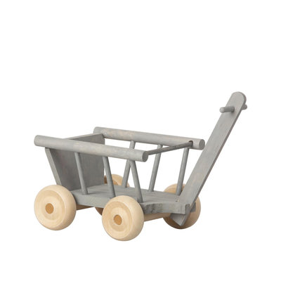 maileg Wagon mint grey