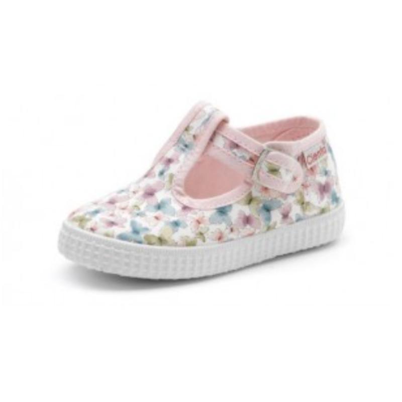 Cienta Girls Flowers sneakers