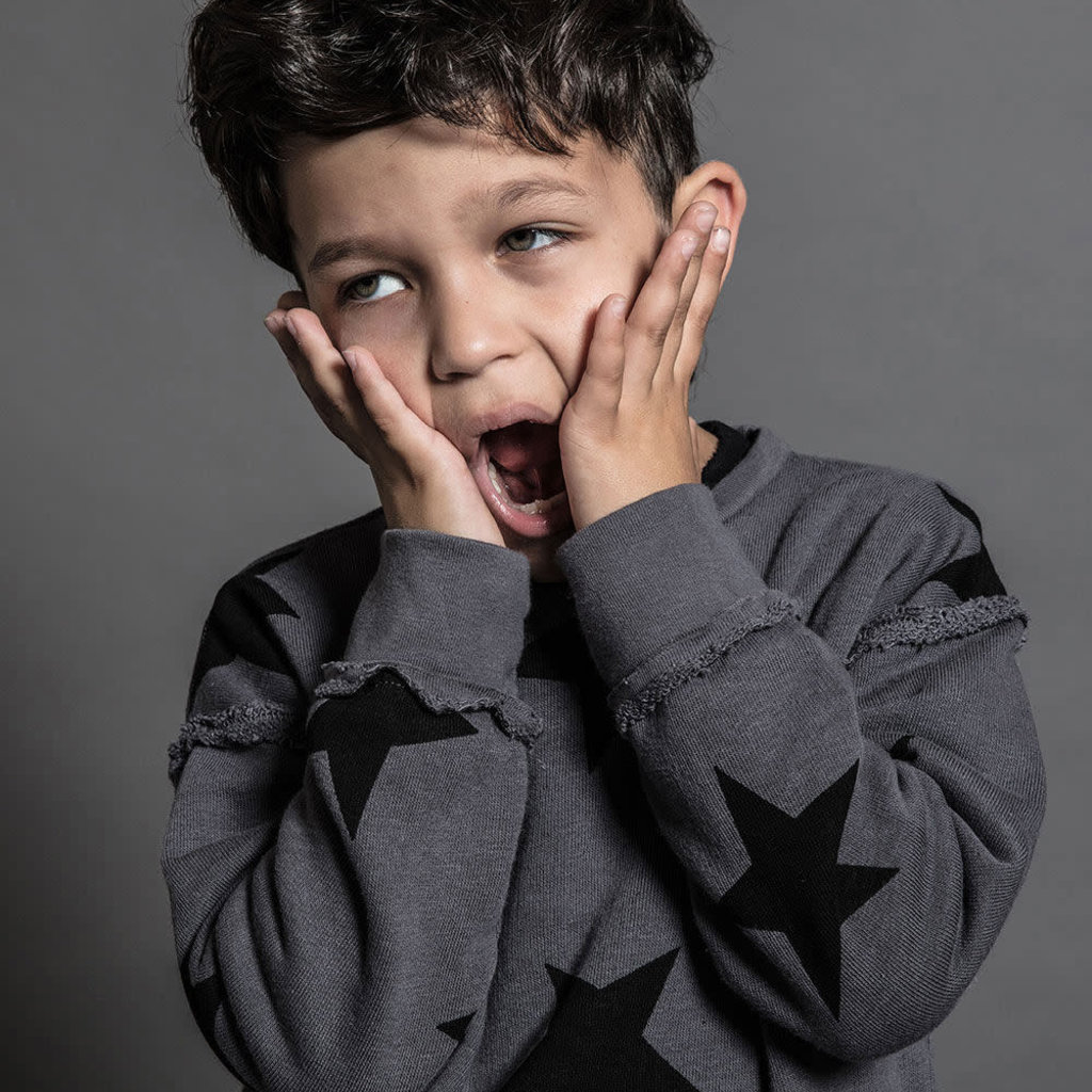 nununubaby Star sweatshirt