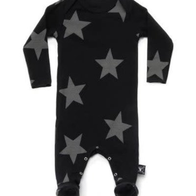 nununubaby Star footed overall