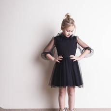 tocoto vintage Black Tulle Dress