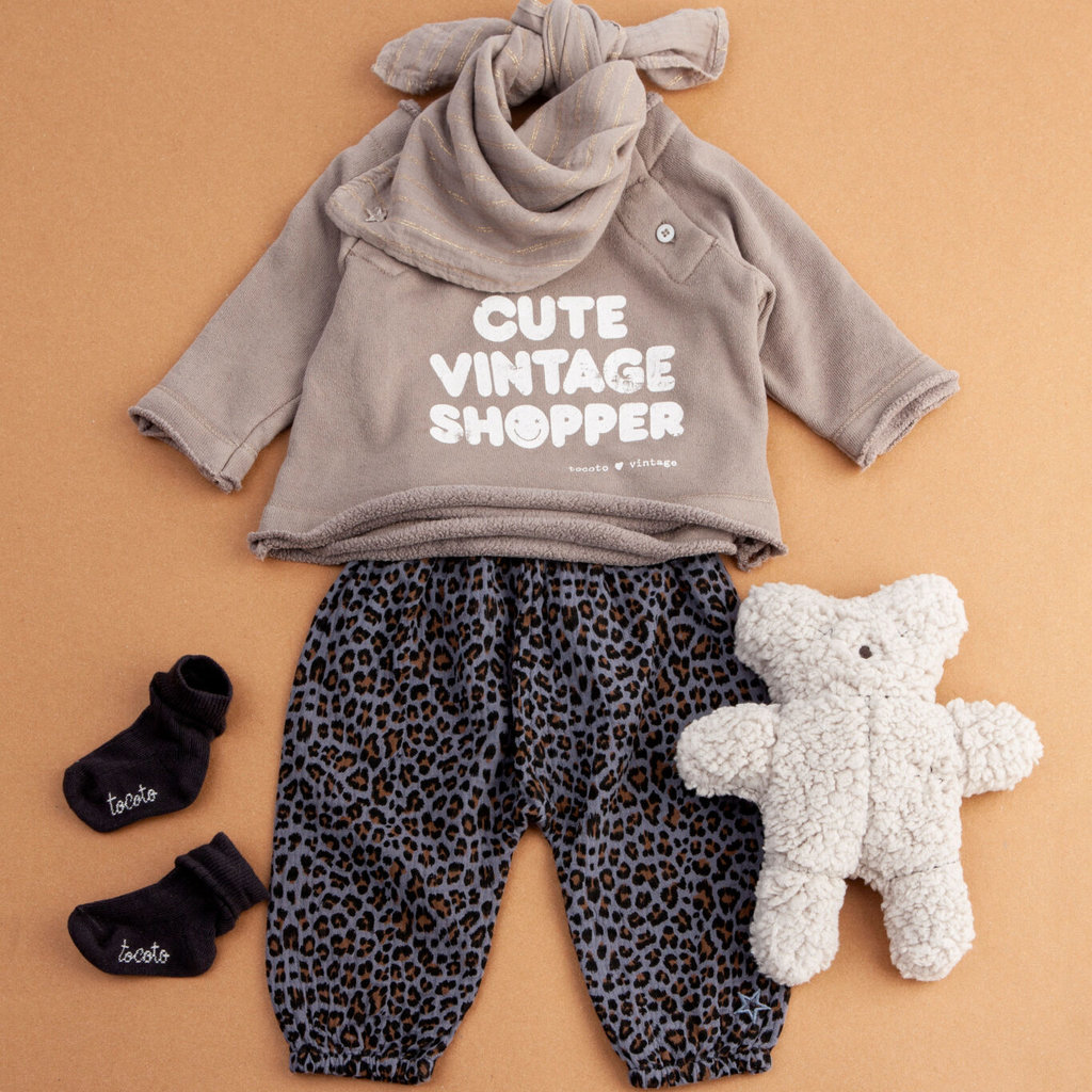 tocoto vintage Baby animal pants