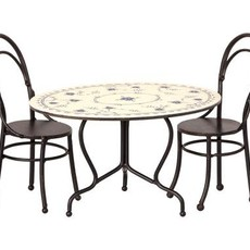 maileg Dining table set w 2 chairs