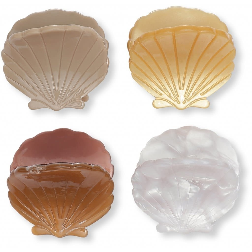 konges Sløjd 4 in pack hair clips clam