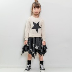 nununubaby falling star flowy dress