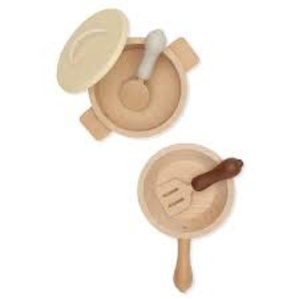 konges Sløjd Pots and Pans Toy