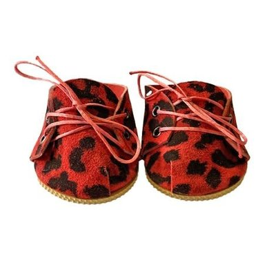 minikane Leopard Ruby Shoes