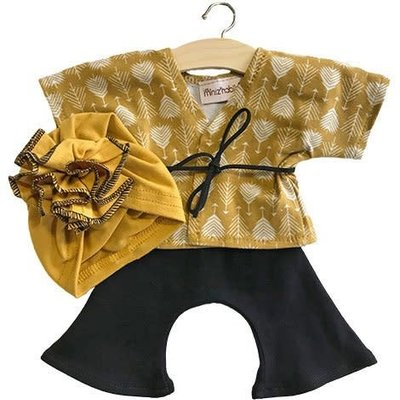 minikane Arrows mustard Set
