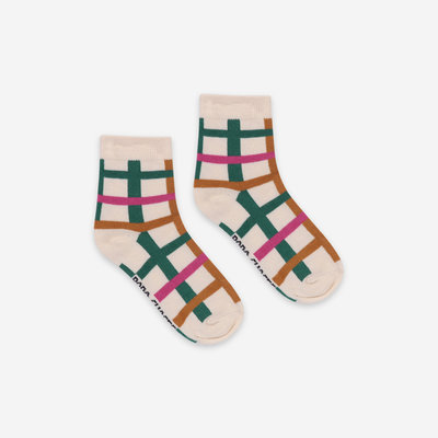 bobo choses Green Checkered Socks