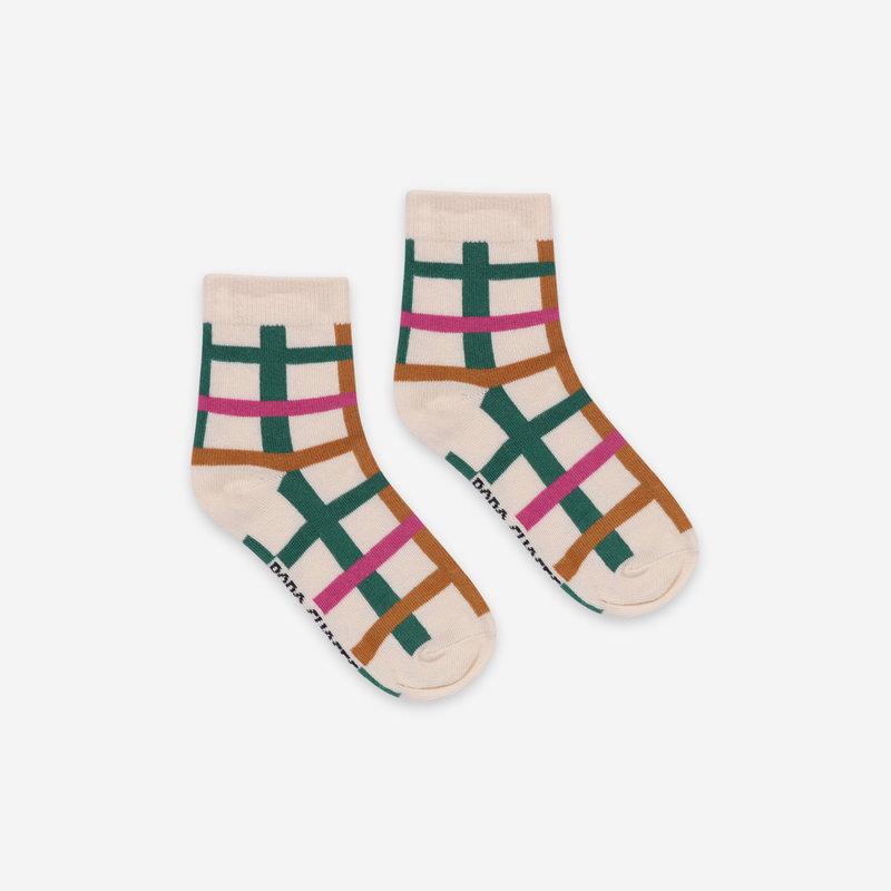 bobo choses Green Checkered Socks