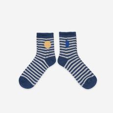 bobo choses Blue Stripes Socks