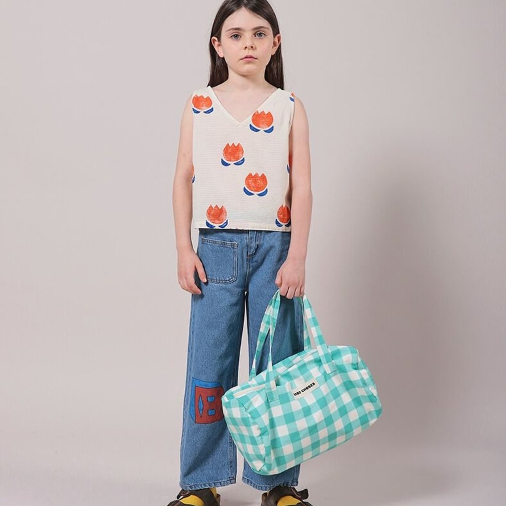 bobo choses Chocolate Flower Top