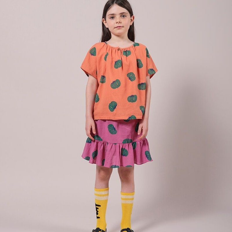 bobo choses Tomatoes Mini Skirt