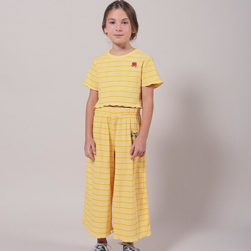 bobo choses Stripped Culotte Trousers