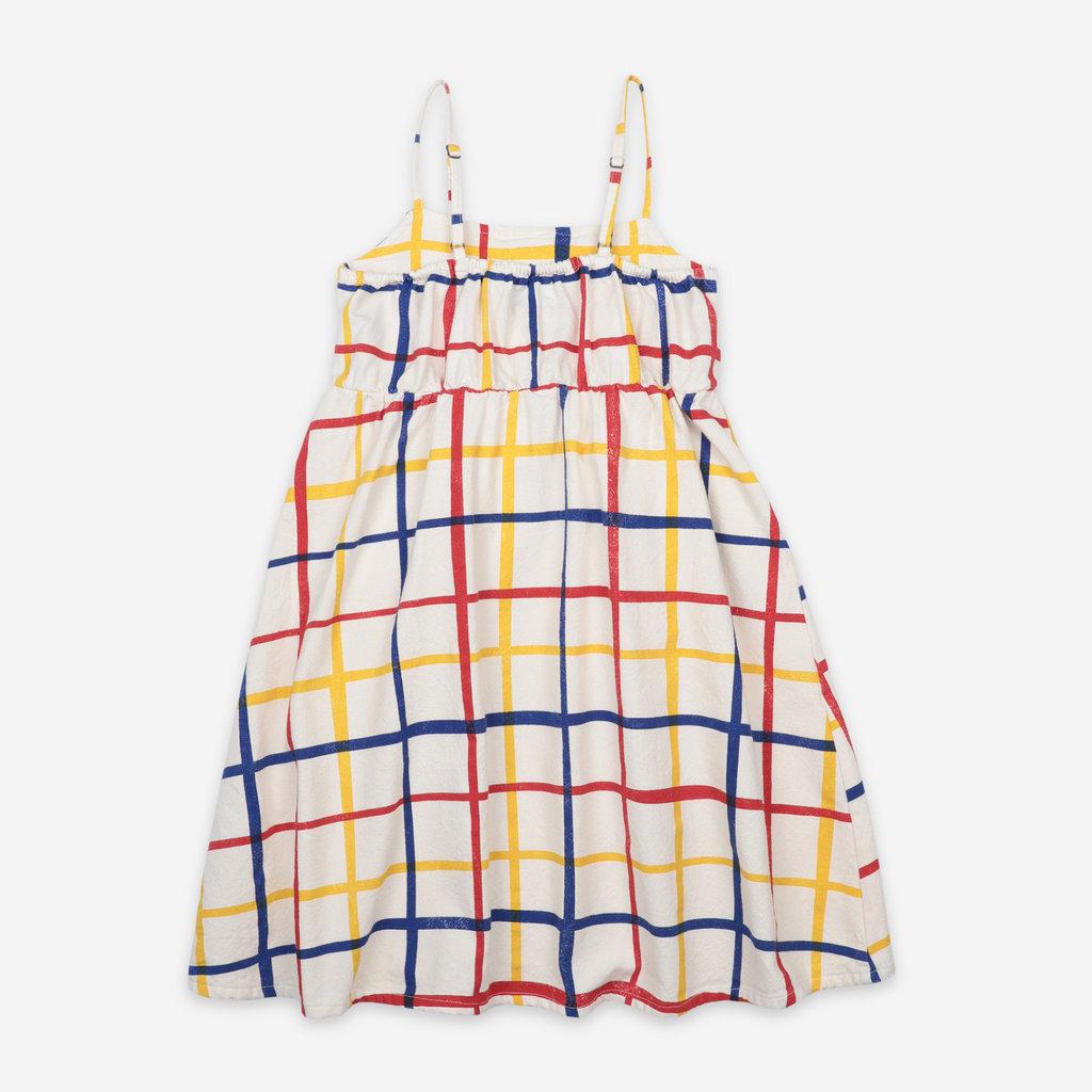 bobo choses Multicolor Checkered Woven Dress