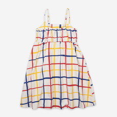 bobo choses Multicolor Checkered Woven Dress