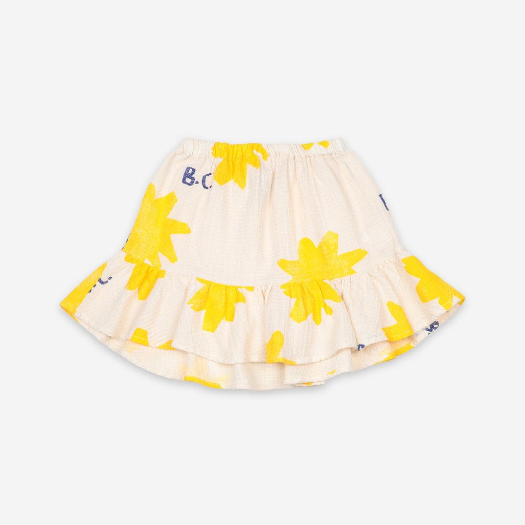 bobo choses Sparkle All Over Ruffle Mini Skirt