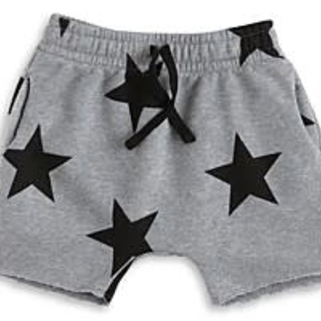 nununubaby  Star rounded shorts