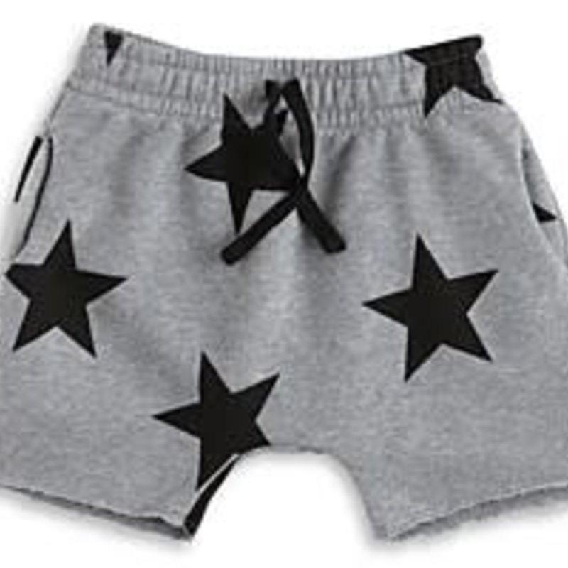 nununubaby Star rounded shorts