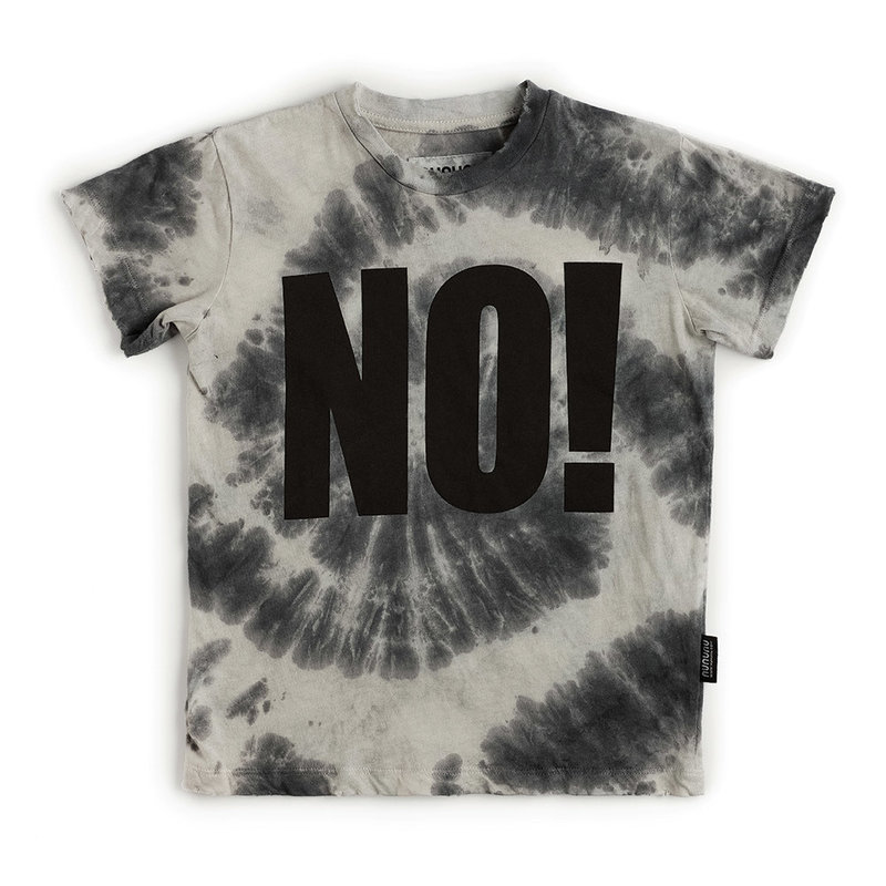 nununubaby NO! Tie dyed T-Shirt