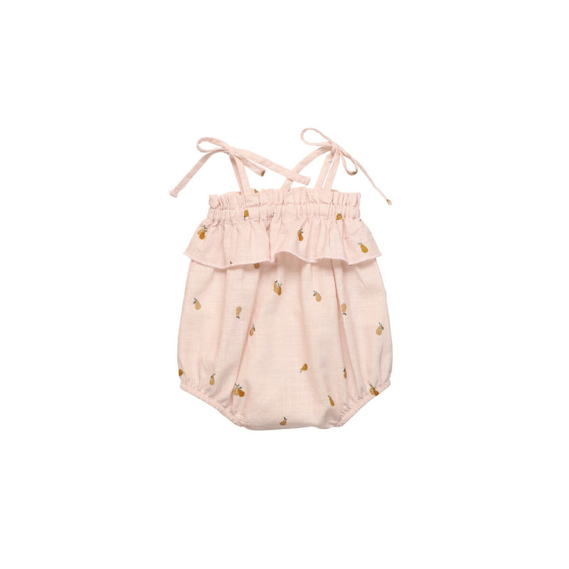 The new society Rachel pear  baby Romper