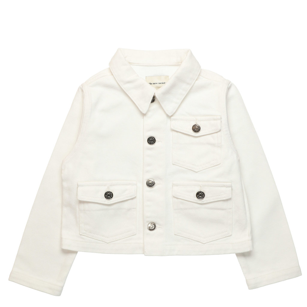 The new society Vega white Jacket