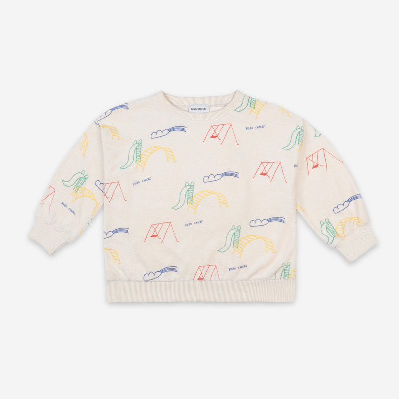 bobo choses Playground All over Sweatshirt