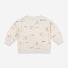 bobo choses Playground All over Sweatshirt