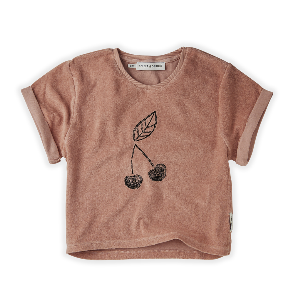 Sproet & Sprout Terry Cherry Sweat Shirt