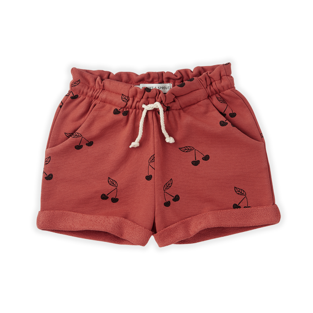 Sproet & Sprout Cherry Print Short
