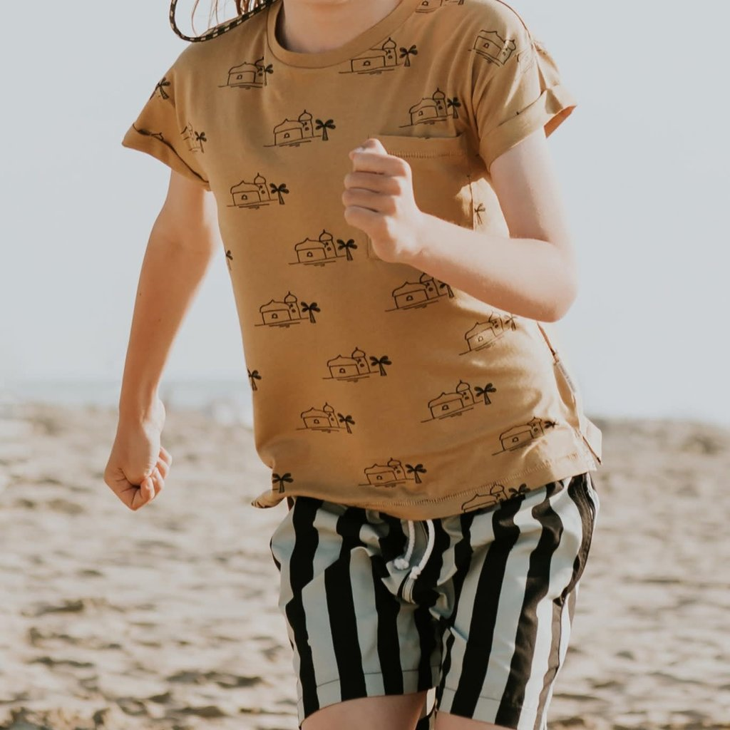 Sproet & Sprout Stripe Printed Swim Short