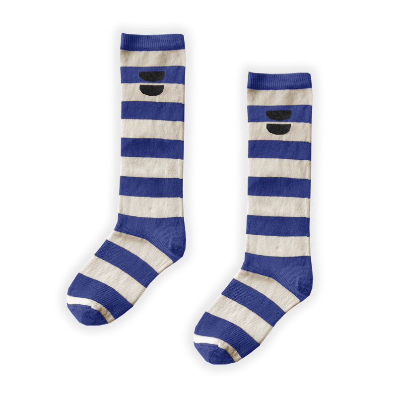 Sproet & Sprout Stripe high socks