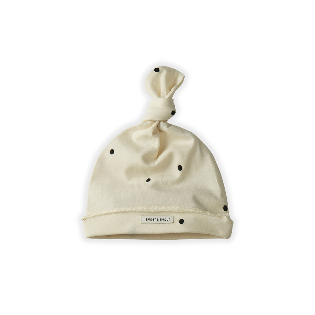 Sproet & Sprout Dots Basic Beanie