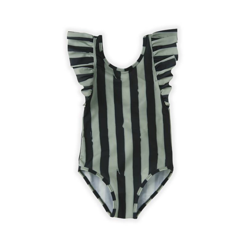 Sproet & Sprout Painted Stripe Swimsuit