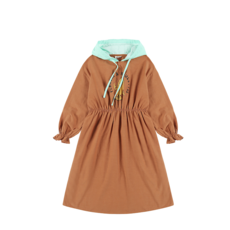 Jelly Mallow Board Hoodie Dress