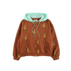 Jelly Mallow Board zip up hoodie