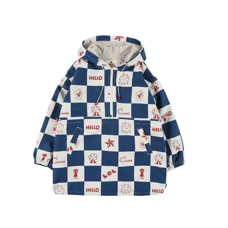 Jelly Mallow Square Anorak wind Jacket