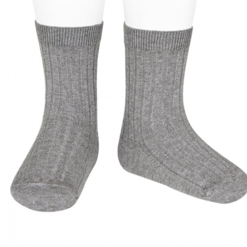 Condor Basic Rib Short Socks