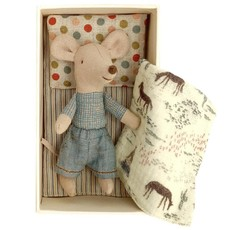 maileg Little brother mouse in matchbox Little brother mouse in matchbox